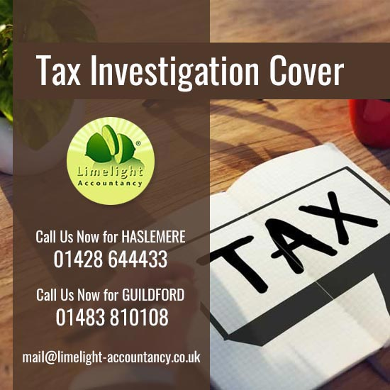 Tax Investigation Cover