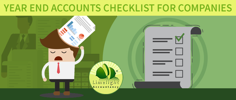 Year End Accounts Checklist for Companies