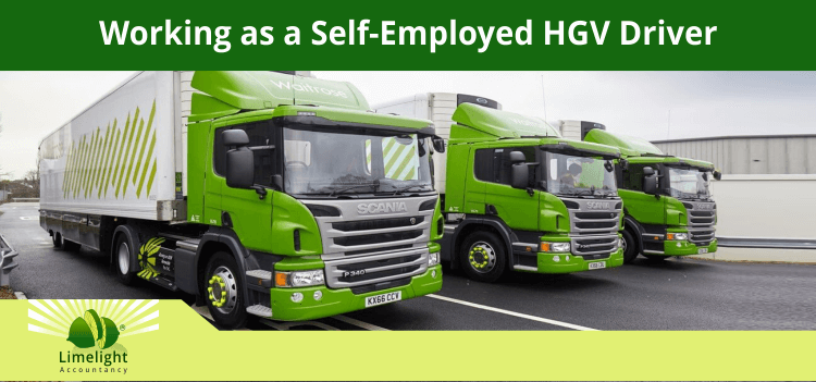 How To Become A Self-Employed HGV Driver?